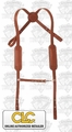 Custom Leathercraft 21110 Heavy Duty Leather Suspenders