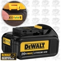 DeWalt DCB200 Lithium Ion Battery Pack w/ Built-in Fuel Gauge