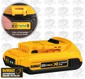 DeWalt DCB203 Compact XR 2.0 Amp Hour Lithium Ion Battery Pack