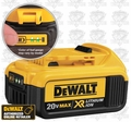 DeWalt DCB204 XR 4.0 Amp Hour Lithium Ion Battery Pack
