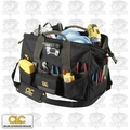 "Custom Leathercraft L232 45 Pocket Tech Gear ""LED Light"" Tool Bag"
