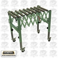 General Woodworking Machinery 50-166 Flexible Expandable Roller Stand