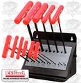 Eklind 60814 SAE T-Handle Ball End Hex Wrench Set