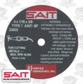 Sait 23065 Metal Cutting Wheel