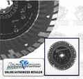 Lackmond TB10P Turbo Continuous Rim Diamond Blade