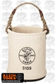 Klein 5109 Canvas Wide Opening Straight-Wall Bucket