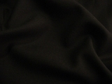 Black Super Quality Worsted Wool Twill Fabric UU-407