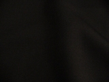 Black Soft Wool Twill Fabric # 3F-205