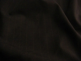 Dark Navy Tropical Pinstripe Wool Fabric UU-400