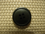Designer 4 hole Buttons 1 inch Dark Green #Bpiece-141