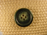 Italian 4 hole Buttons 1 inch Green #Bpiece-145