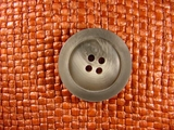 Italian 4 hole Buttons 1 1/8 inches Gray #Bpiece-187