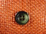 Italian 4 hole Buttons 3/4 inch Green #Bpiece-201