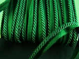 "Italian 1/4"" Dark Green Twisted Lip Cord LT-149"