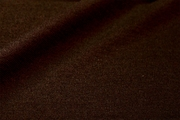 Dark Chocolate Brown Pure Cotton Double Knit Fabric #NV-737