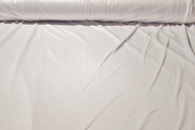 Pure White Washable Satin Knit Fabric #NV-391