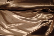 Dark Tan Charmeuse Dress Fabric #NV-390