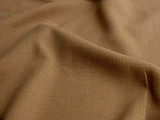 Taupe Brown Linen Blend Fabric