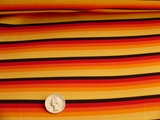 Italian Colorful Stripes 4 ways Stretch Knit Fabric #UU-220