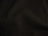 Black Wool Gabardine Menswear Suiting Fabric # 3F-258