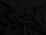 Superfine 4 way Stretch Black Lightweight Sheer Knit Fabric # 3F-265