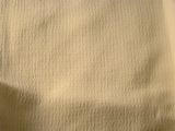 Cream Textured Crinkle Crepe Fabric # NV-585