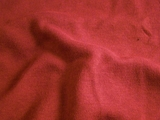 Claret Red Pure Cotton Double Knit Fabric # 3F-401