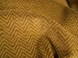 Golden Brown Houndstooth Velveteen Fabric #HD-206