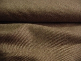 Brown Diagonal Striped Wool Coating Fabric # WL-128