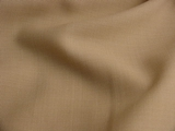 Beige Worsted Wool Blend Fabric #WL-343