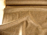 Italian Tan Beige Fine Textured Wool Fabric # WL-24