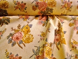 Natural Cotton Floral Home Decor Fabric # UU-23