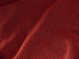 Red Checked Dress Fabric
