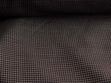 Navy Wool Check Suiting Fabric # WL-99