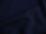 Navy Wool Crepe Fabric # 3F-255