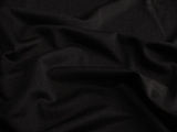 Black 4 way Stretch Smooth Spandex Nylon Fabric # 3F-226