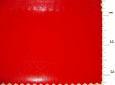 Red Thin Poly Vinyl Fabric #ABC-632