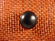(36pcs) Dome Buttons 7/8 inch Black #bag- 166