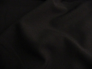 Dark Navy High Twist Worsted Wool Blend Fabric # UU-412