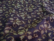 Floral Cotton Jacquard Fabric UU-173