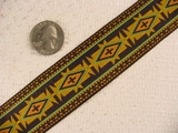 Earthly-Toned Egyptian Jacquard Ribbon #-WR-68