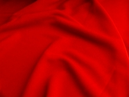 Red Fine Matte Jersey Fabric #NV-576