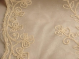 Natural Silk Embroidered Fabric #RR-101