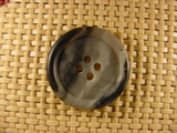 Designer 4 hole Buttons 1 1/8 inches Multi Grey #Bpiece-265