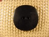 Designer 2 hole Buttons 1 1/4 inches Black #Bpiece-271