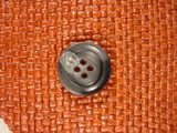 Designer 4 hole Buttons 7/8 inch Grey #Bpiece-289