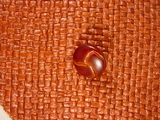 Faux Leather Shank Buttons from Italy 5/8 inch Brown #Bpiece-299