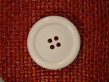 Italian 4 hole Buttons 1 1/2 inches White #Bpiece-321