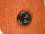 Designer 4 hole Buttons from Japan 1 inch Black #Bpiece-325