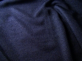 Navy Blue Polyester Knit Fabric # K-404
